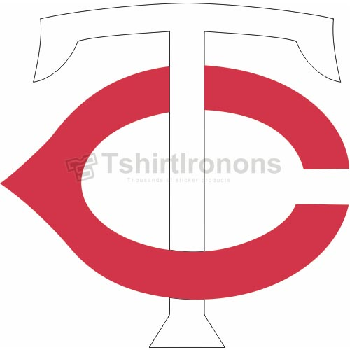 Minnesota Twins T-shirts Iron On Transfers N1735