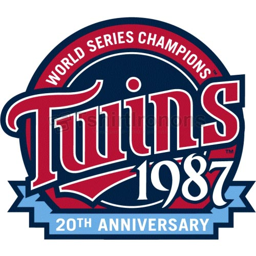 Minnesota Twins T-shirts Iron On Transfers N1738