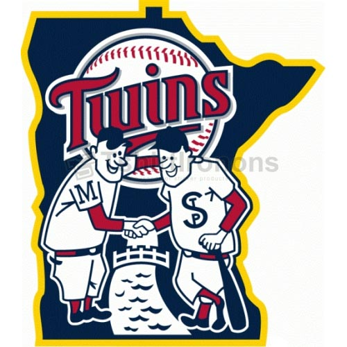 Minnesota Twins T-shirts Iron On Transfers N1745