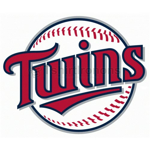 Minnesota Twins T-shirts Iron On Transfers N1746