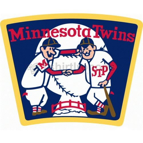 Minnesota Twins T-shirts Iron On Transfers N1747