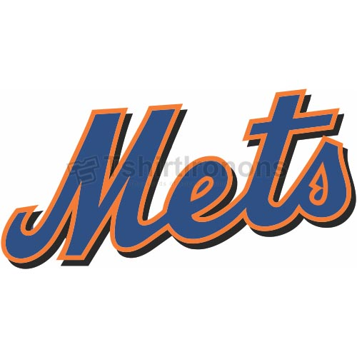 New York Mets T-shirts Iron On Transfers N1749