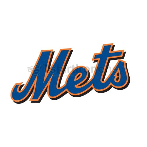 New York Mets T-shirts Iron On Transfers N1750