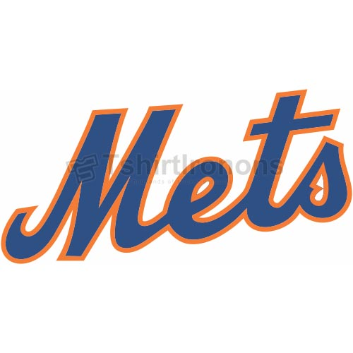 New York Mets T-shirts Iron On Transfers N1751