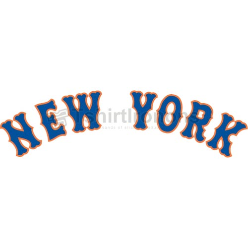 New York Mets T-shirts Iron On Transfers N1752