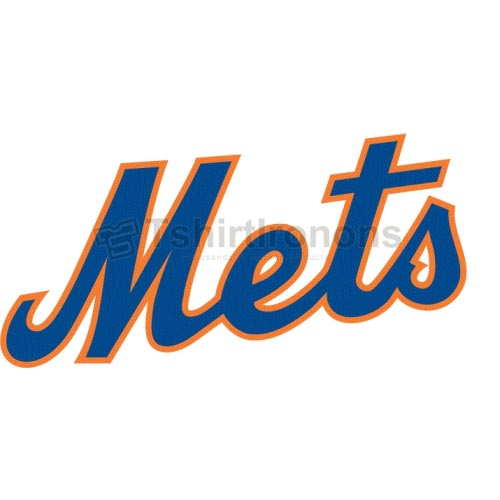 New York Mets T-shirts Iron On Transfers N1753