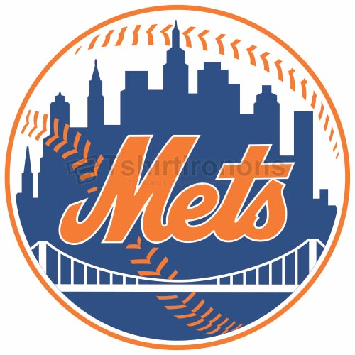 New York Mets T-shirts Iron On Transfers N1754