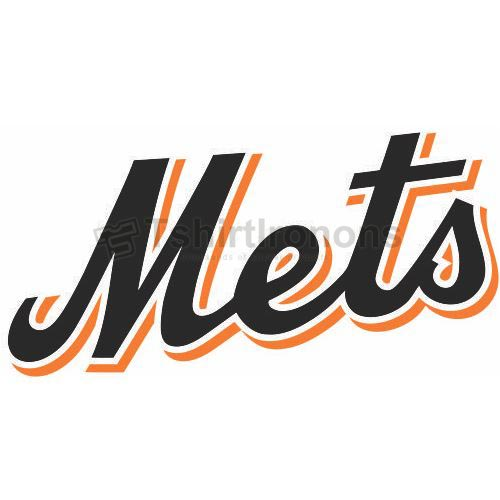 New York Mets T-shirts Iron On Transfers N1756
