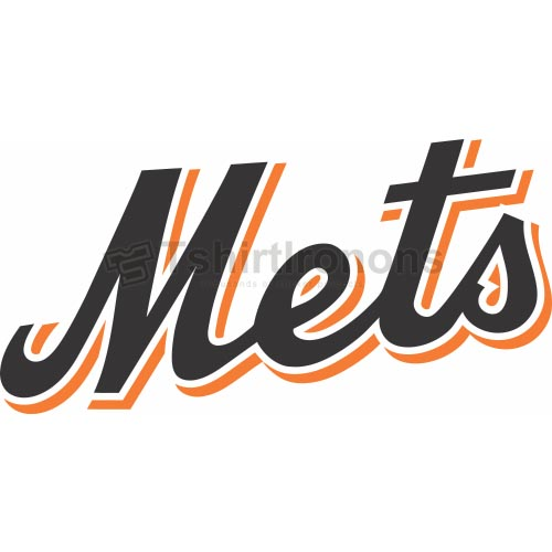New York Mets T-shirts Iron On Transfers N1758