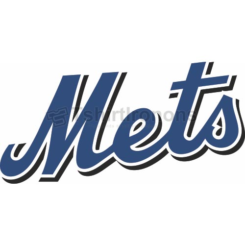 New York Mets T-shirts Iron On Transfers N1759