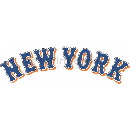 New York Mets T-shirts Iron On Transfers N1760