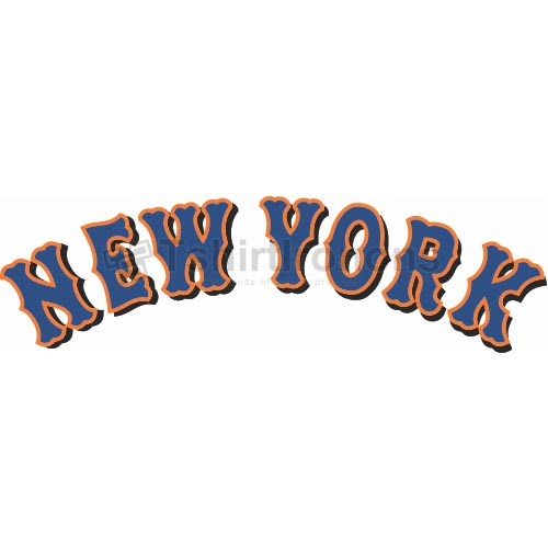 New York Mets T-shirts Iron On Transfers N1761