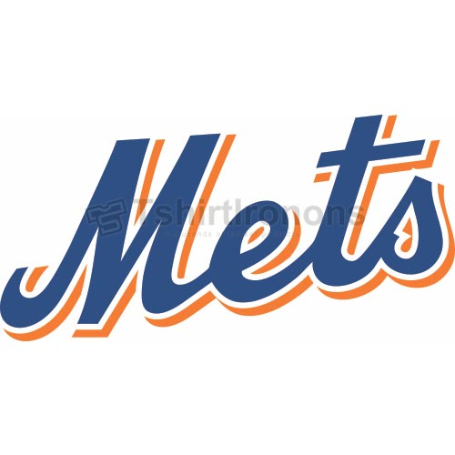 New York Mets T-shirts Iron On Transfers N1762