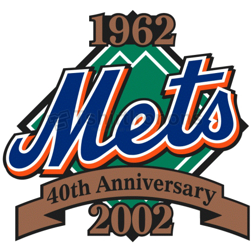 New York Mets T-shirts Iron On Transfers N1765