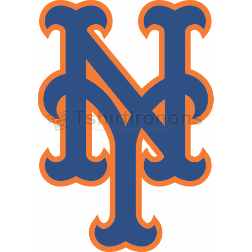 New York Mets T-shirts Iron On Transfers N1768