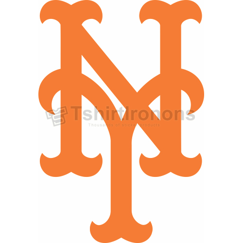 New York Mets T-shirts Iron On Transfers N1769