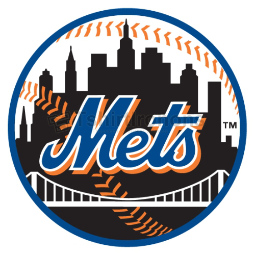 New York Mets T-shirts Iron On Transfers N1770