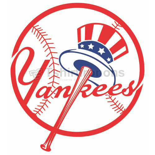 New York Yankees T-shirts Iron On Transfers N1771