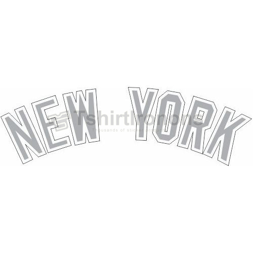 New York Yankees T-shirts Iron On Transfers N1772