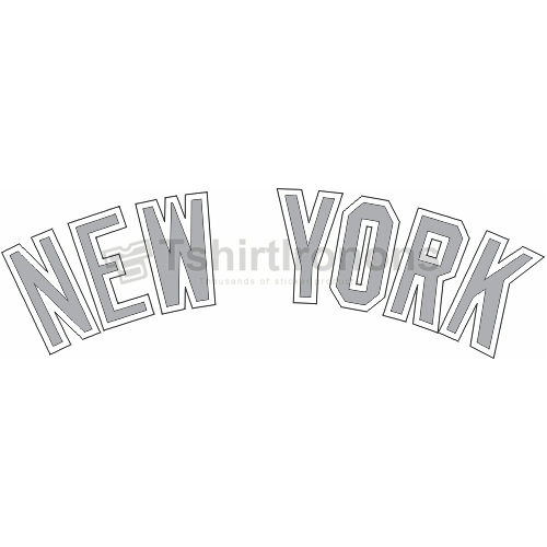 New York Yankees T-shirts Iron On Transfers N1773