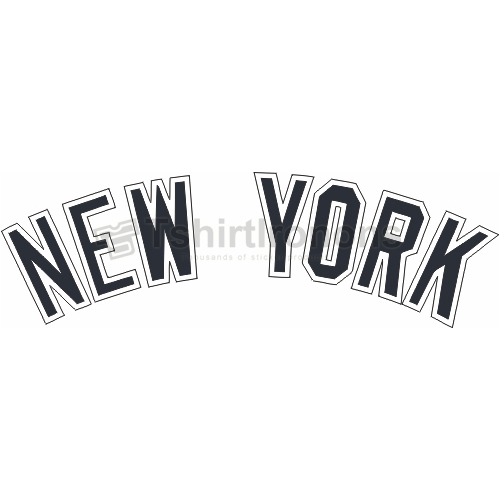 New York Yankees T-shirts Iron On Transfers N1775