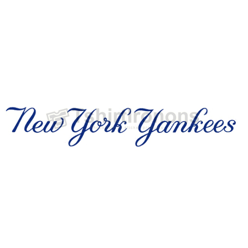 New York Yankees T-shirts Iron On Transfers N1776