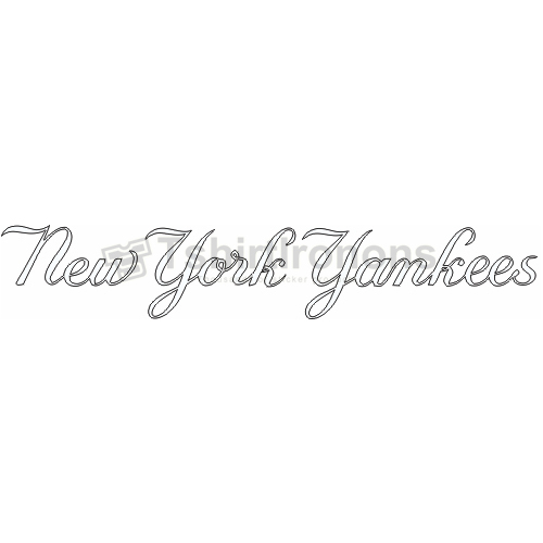 New York Yankees T-shirts Iron On Transfers N1778