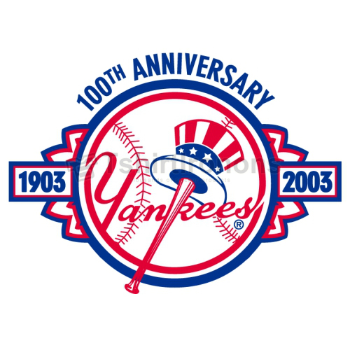 New York Yankees T-shirts Iron On Transfers N1781