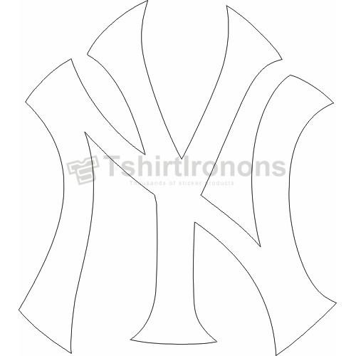 New York Yankees T-shirts Iron On Transfers N1783