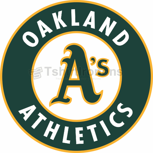 Oakland Athletics T-shirts Iron On Transfers N1785