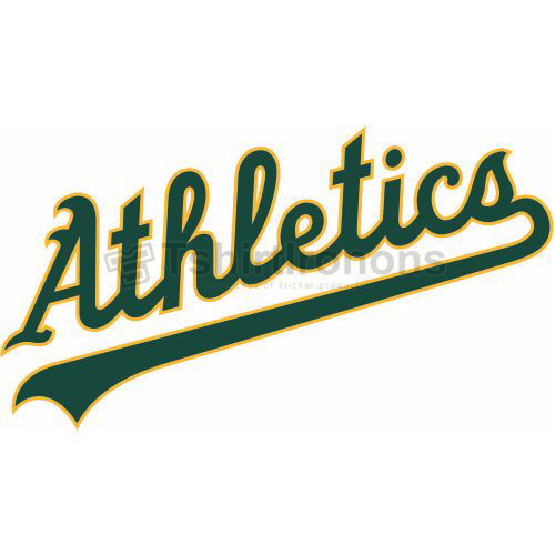 Oakland Athletics T-shirts Iron On Transfers N1787