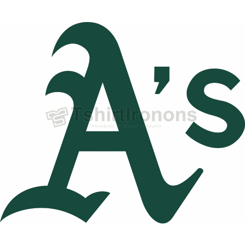 Oakland Athletics T-shirts Iron On Transfers N1789