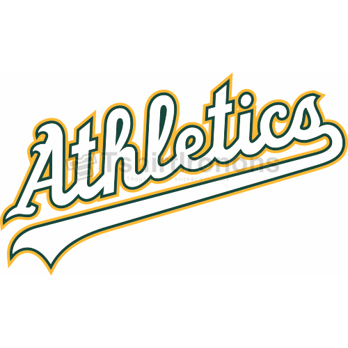 Oakland Athletics T-shirts Iron On Transfers N1790