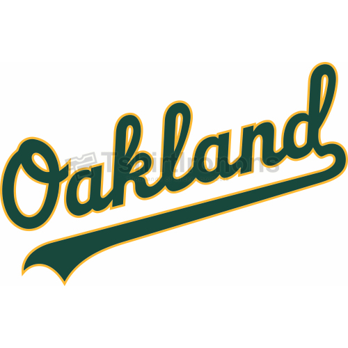 Oakland Athletics T-shirts Iron On Transfers N1793