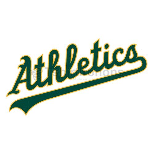 Oakland Athletics T-shirts Iron On Transfers N1794