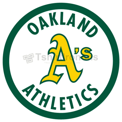 Oakland Athletics T-shirts Iron On Transfers N1796