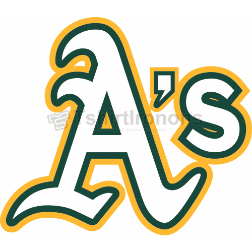 Oakland Athletics T-shirts Iron On Transfers N1798
