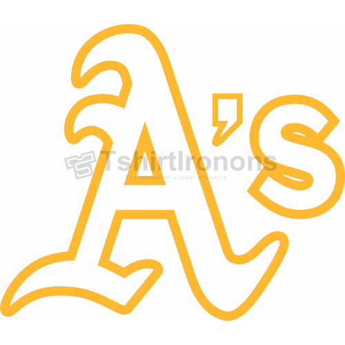 Oakland Athletics T-shirts Iron On Transfers N1799