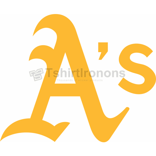 Oakland Athletics T-shirts Iron On Transfers N1802
