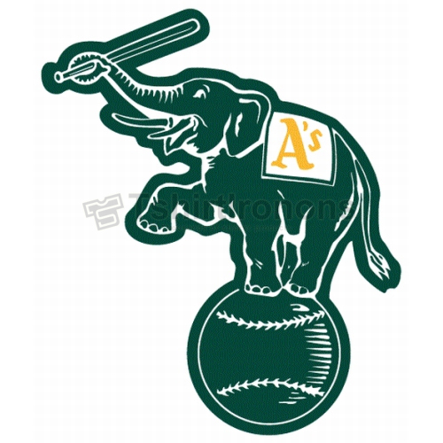 Oakland Athletics T-shirts Iron On Transfers N1805
