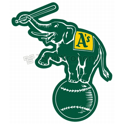 Oakland Athletics T-shirts Iron On Transfers N1808