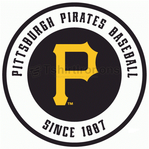 Pittsburgh Pirates T-shirts Iron On Transfers N1826