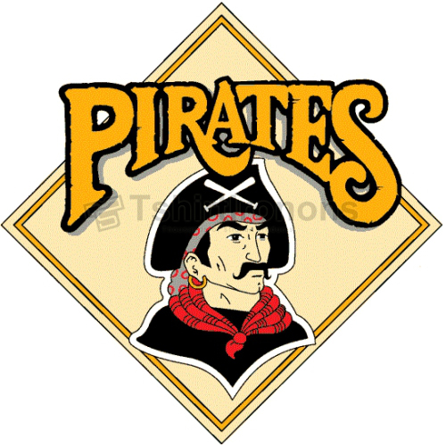 Pittsburgh Pirates T-shirts Iron On Transfers N1832