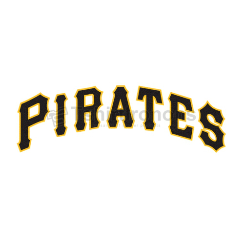 Pittsburgh Pirates T-shirts Iron On Transfers N1833