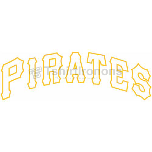 Pittsburgh Pirates T-shirts Iron On Transfers N1837