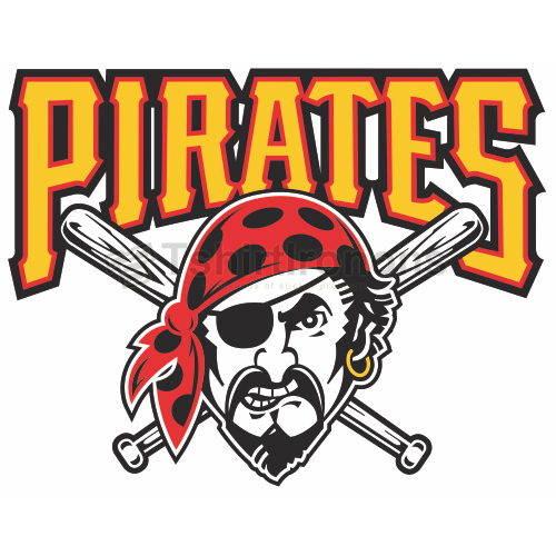 Pittsburgh Pirates T-shirts Iron On Transfers N1839