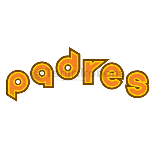 San Diego Padres T-shirts Iron On Transfers N1840