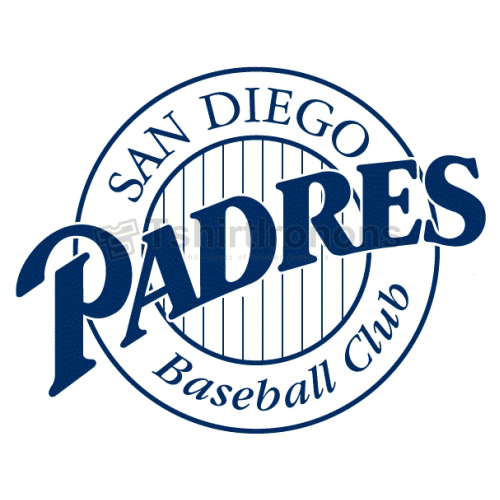 San Diego Padres T-shirts Iron On Transfers N1842