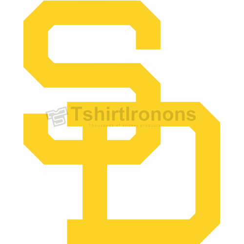 San Diego Padres T-shirts Iron On Transfers N1844