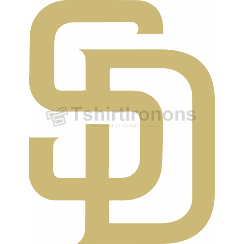 San Diego Padres T-shirts Iron On Transfers N1850